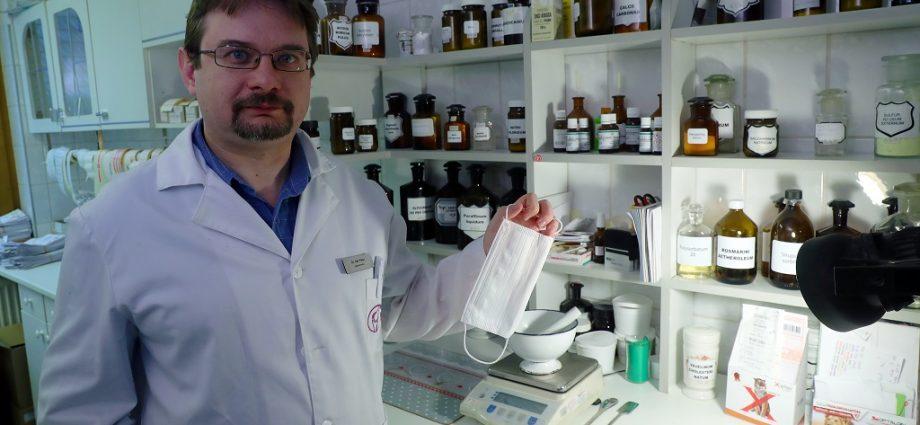 Dér Péter gyógyszerész a koronavírusról