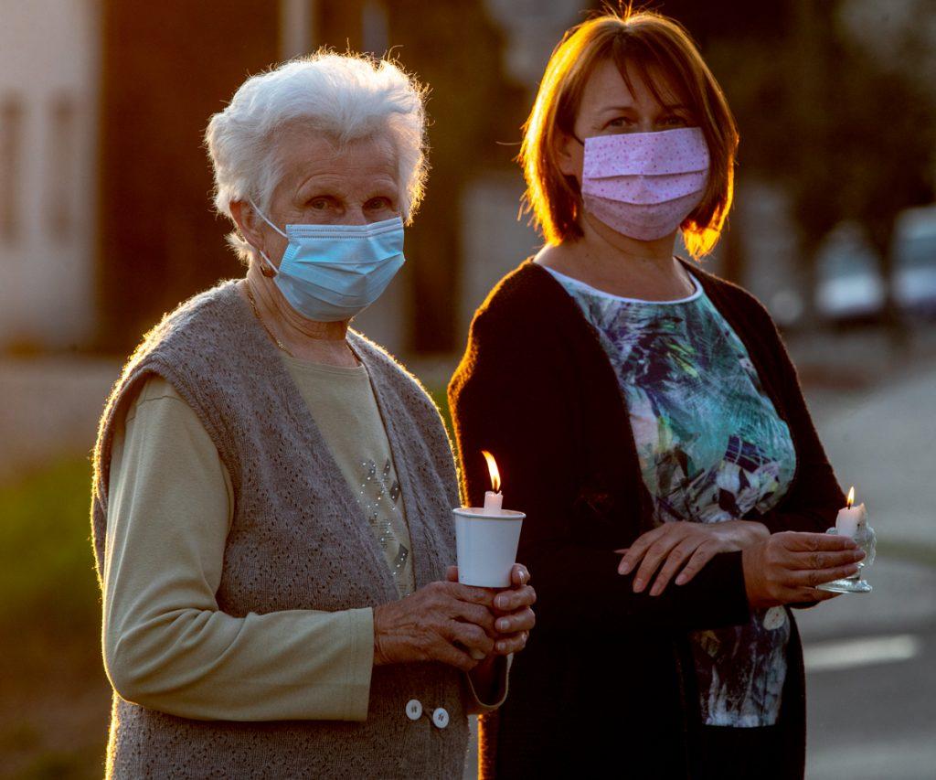 Körmenet a járvány idején