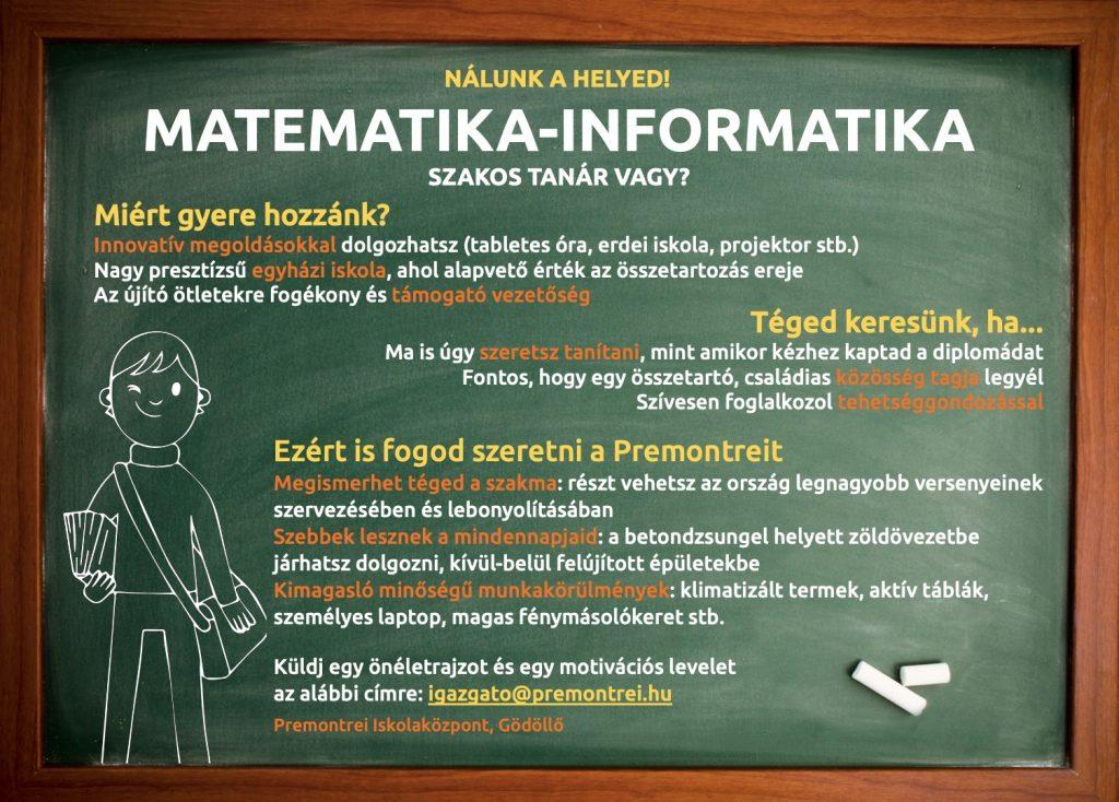 Matematika-informatika tanár