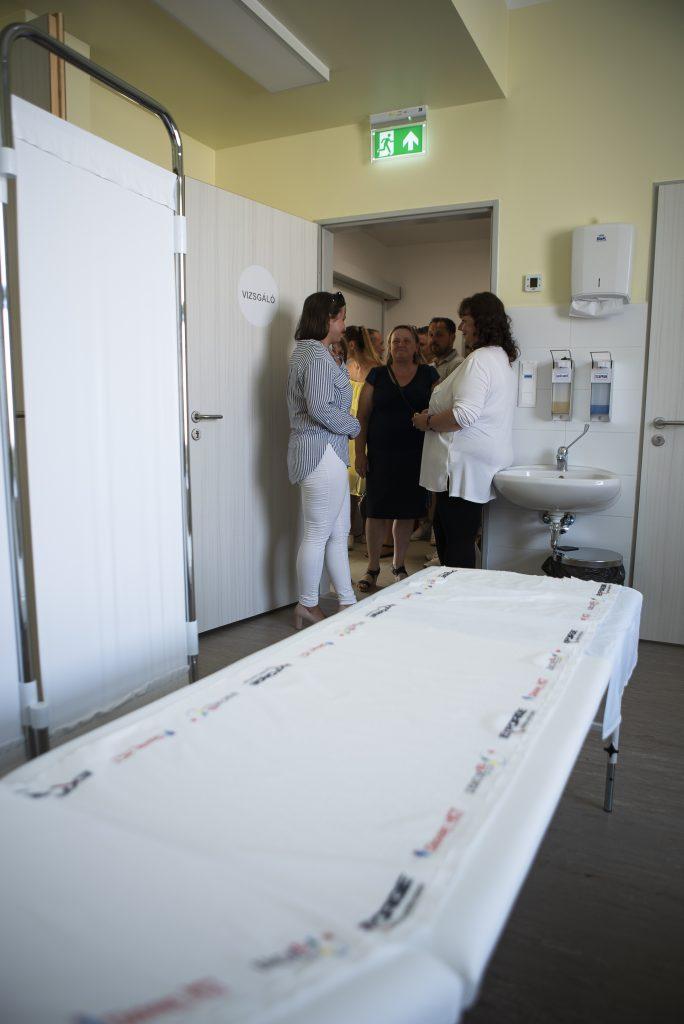 Így adták át az Egészségházat