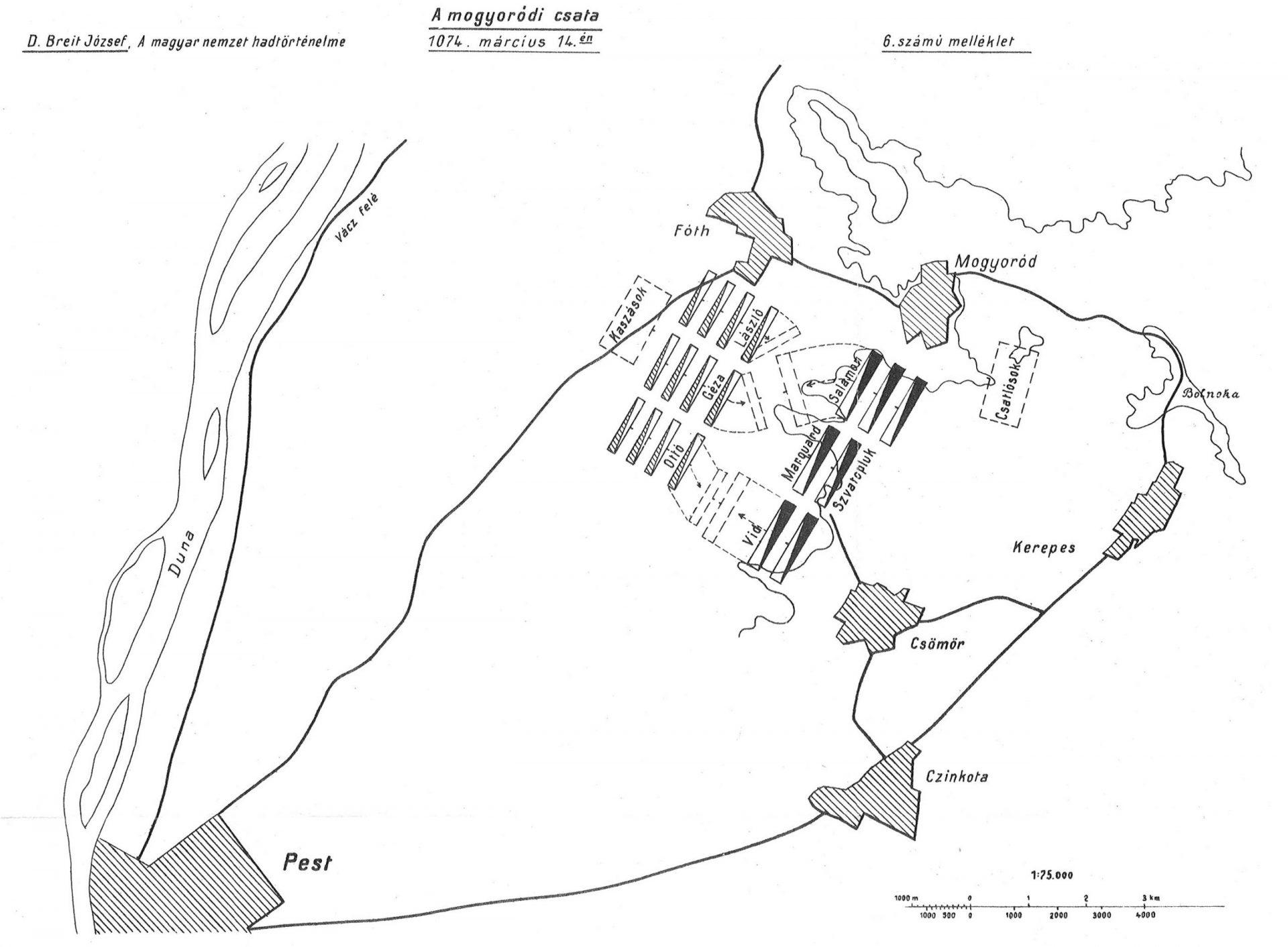 A csata, ami beírta Mogyoród nevét a történelemkönyvekbe
