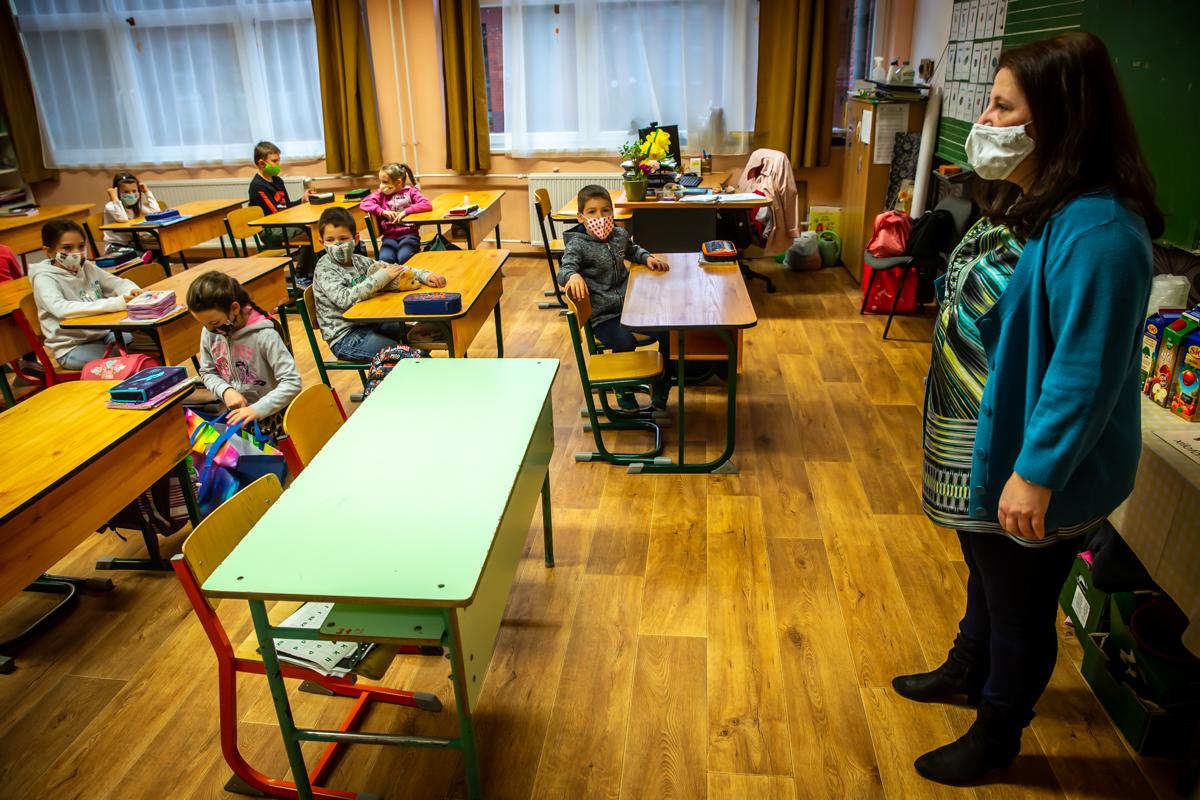 Így kezdődött újra az élet a mogyoródi iskolában és óvodákban