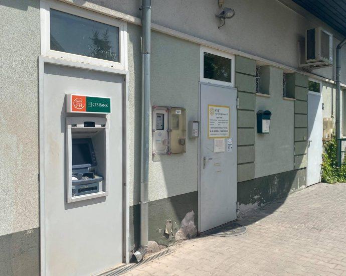 Bankautomatát kaptak a mogyoródiak