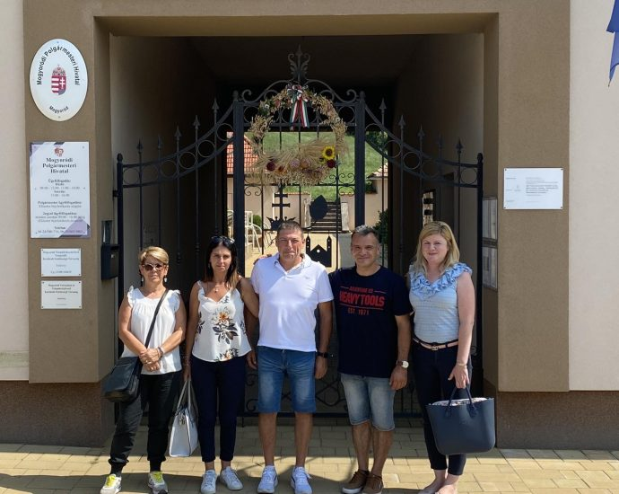 Olasz vendégek Mogyoródon