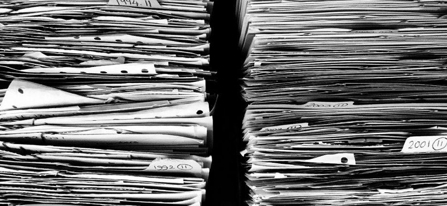 Papírgyűjtés az iskolában
